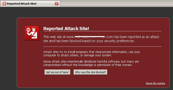 google attack