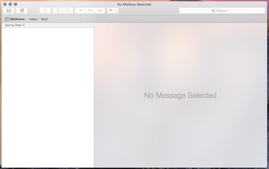 OSX mail